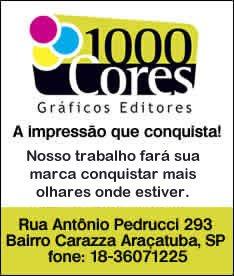 1000 Cores - Gráfica em Araçatuba