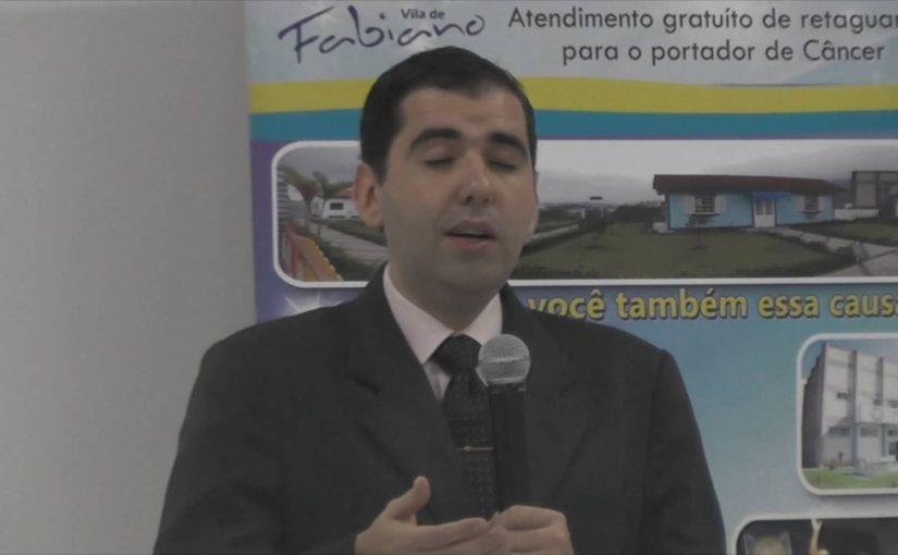 Allan Vilches no Centro Espírita Irmã Angélica