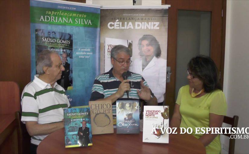 Entrevista interessante com Saulo Gomes e Célia Diniz