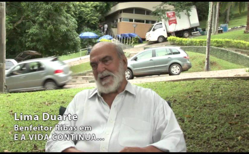 """Lima Duarte, o Benfeitor Dimas no filme """"E A Vida Continua"""" fala sobre o Espiritismo em sua vida"""