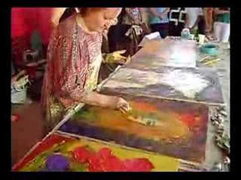 Marilusa Vasconcelos: Pintura Mediúnica