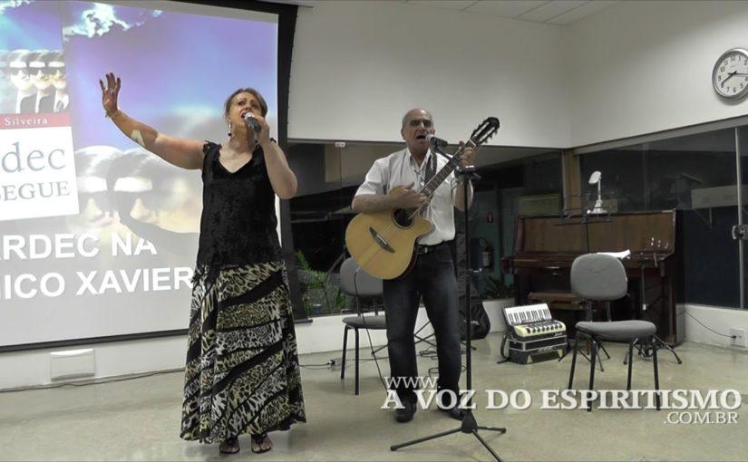 """Música com Sérgio Santos e Marlene e poema """"A Ponte de Luz"""" por Denise Gonçalves"""