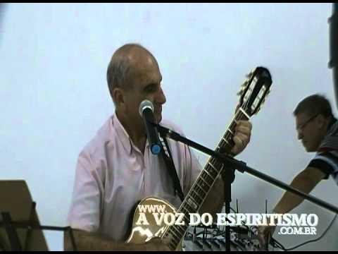 Palestra musicada com Sérgio Santos no Centro Espírita Irmã Angélica de Araçatuba