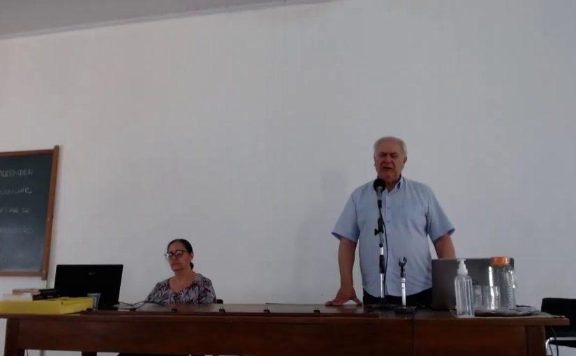 Palestra virtual na Instituição Nosso Lar de Araçatuba SP