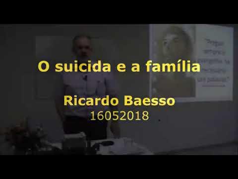 O suicida e a família com o orador espírita Ricardo Baesso